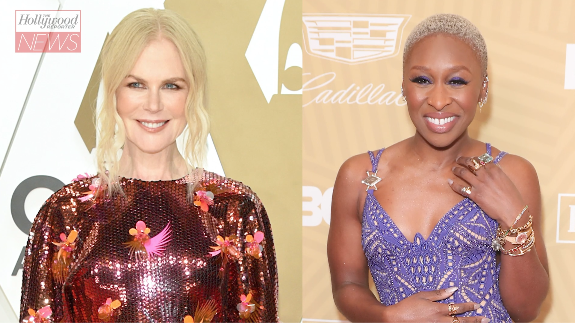 Nicole Kidman, Cynthia Erivo Set to Star in Apple Anthology Series 'Roar' | THR News