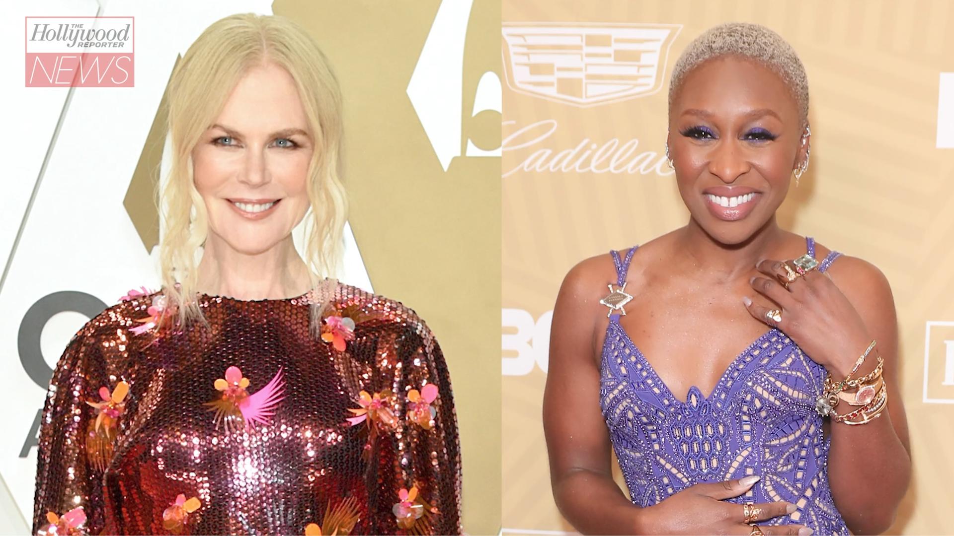 Nicole Kidman, Cynthia Erivo Set to Star in Apple Anthology Series 'Roar' | THR News