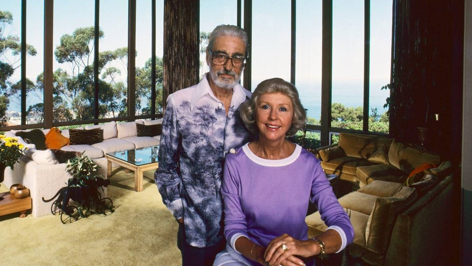 Theodor Geisel (aka children's book author Dr. Seuss) and his wife, Audrey Stone Dimond, ca. 1981.