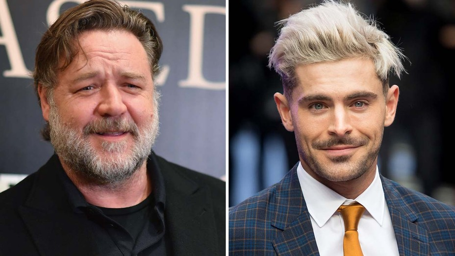 Russell Crowe and Zac Efron