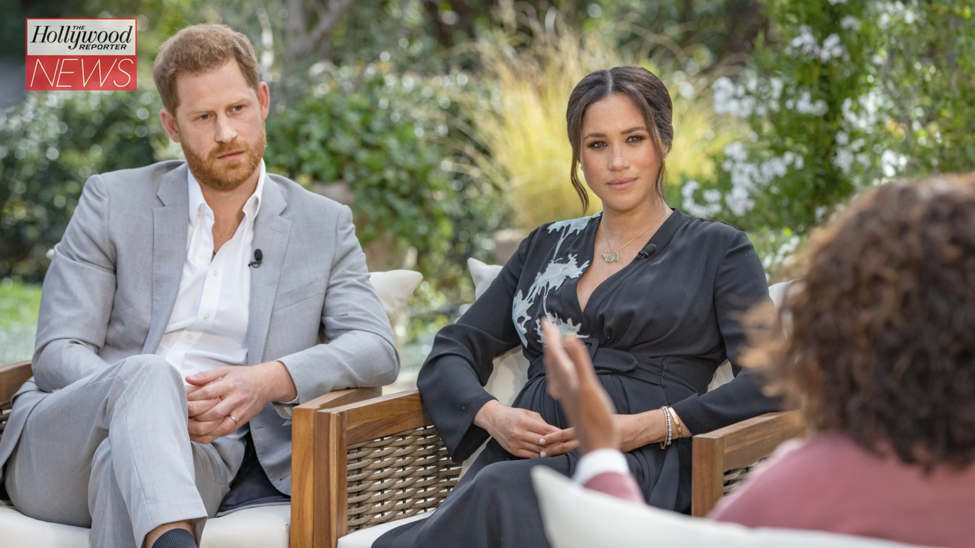 Meghan Markle Reveals Palace Concerns Over Archie's Skin Color in 'Oprah With Meghan and Harry' | THR News