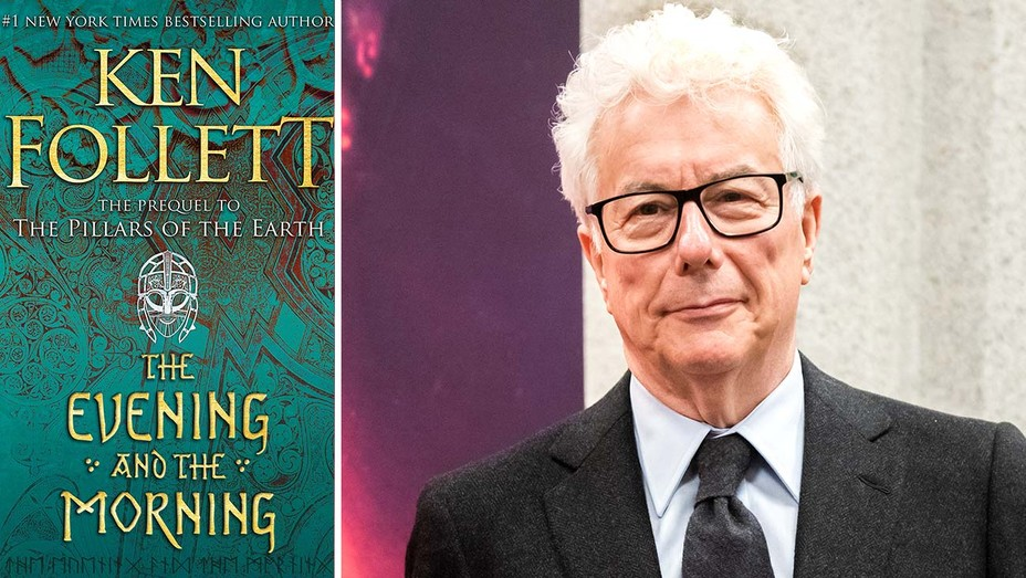 The Evening and the Morning Book Cover and Ken Follett