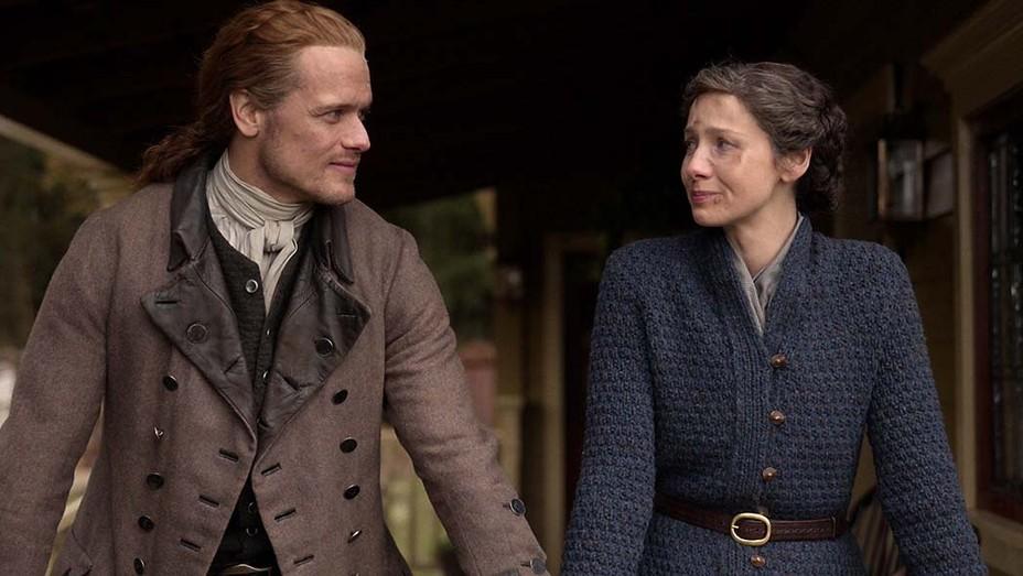 Outlander - Sam Heugan and Caitriona Balfe