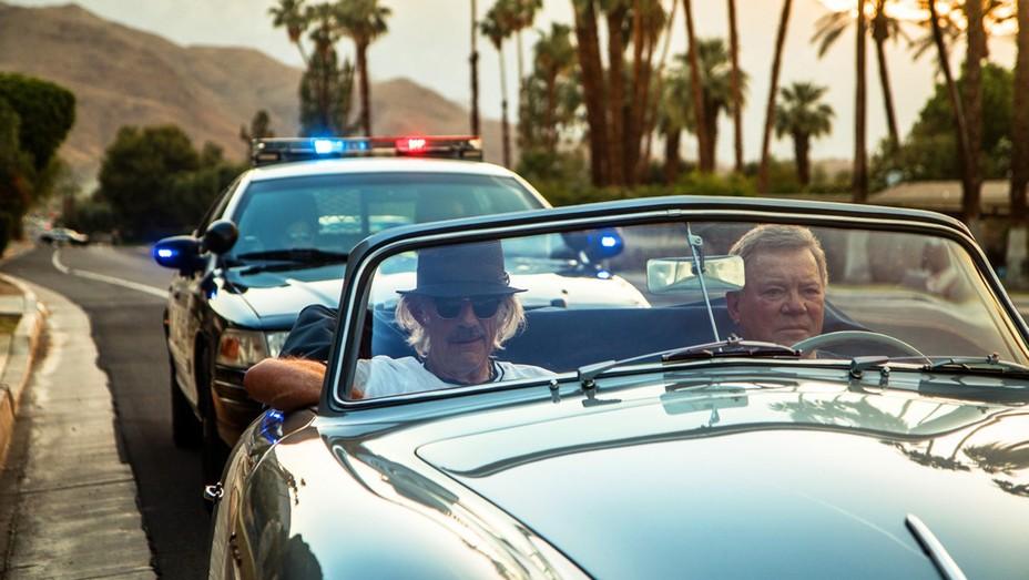 Christopher Lloyd and William Shatner in 'Senior Moment.'