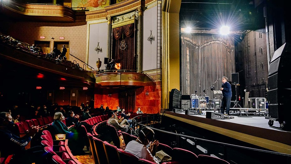 Nathan Lane on stage