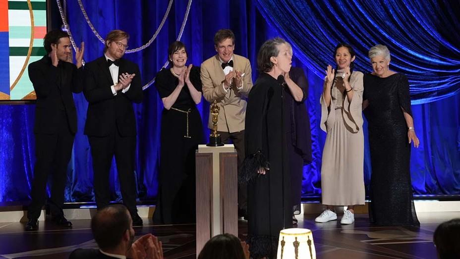 FRANCES MCDORMAND -howl- 93rd Annual Academy Awards - Show - Getty-EMBED 2021