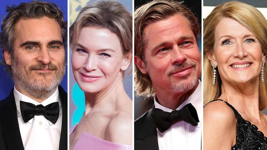 Joaquin Phoenix Renee Zellweger Brad Pitt Laura Dern