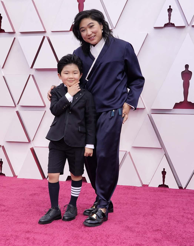 Alan S. Kim, left, and Vicky Kim