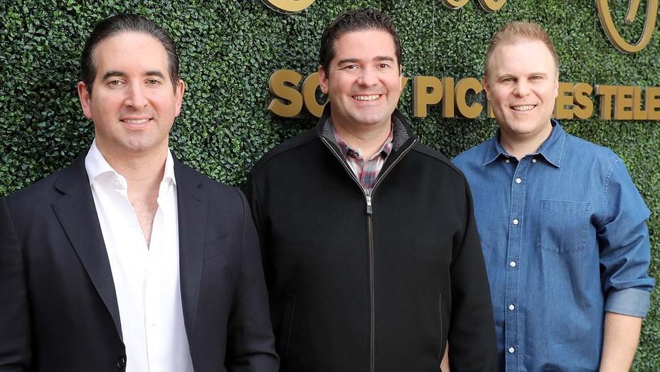Hayden Schlossberg, Jon Hurwitz and Josh Heald
