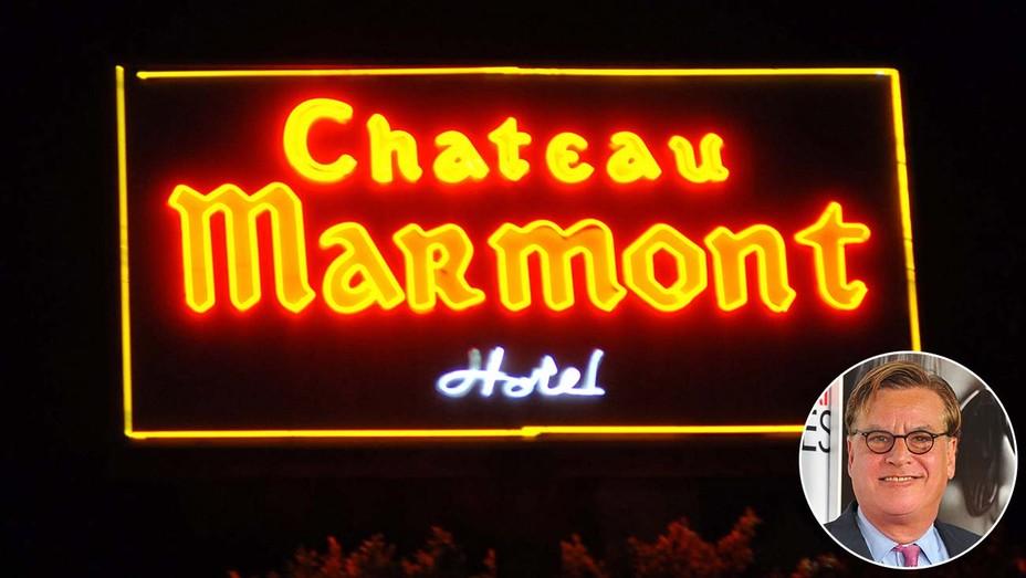 Chateau Marmont inset Aaron Sorkin