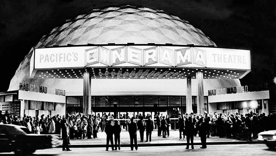The Cinerama Dome opened Nov. 4, 1963, with the premiere of It's a Mad, Mad, Mad, Mad World.