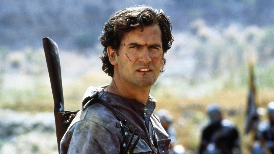 Bruce Campbell as Ash Williams in 'Army of Darkness'
