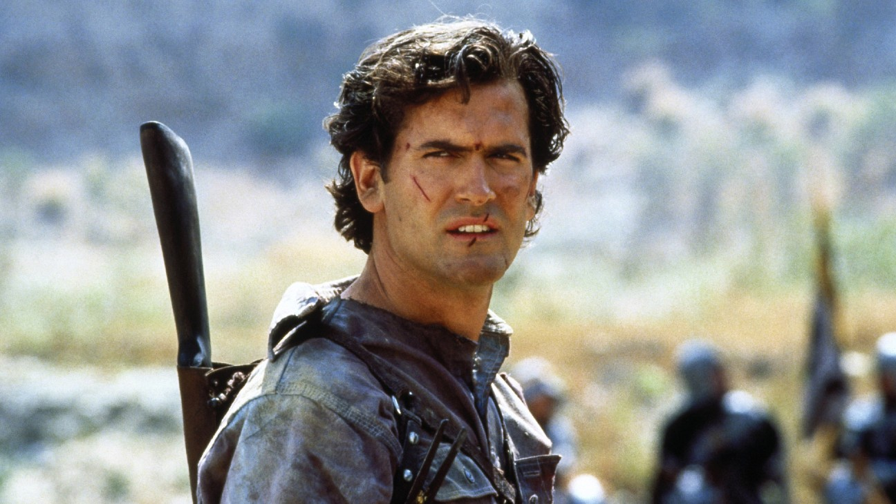 Bruce Campbell Reveals Why Ash Was Ripped in Foreign 'Army of Darkness' Poster
