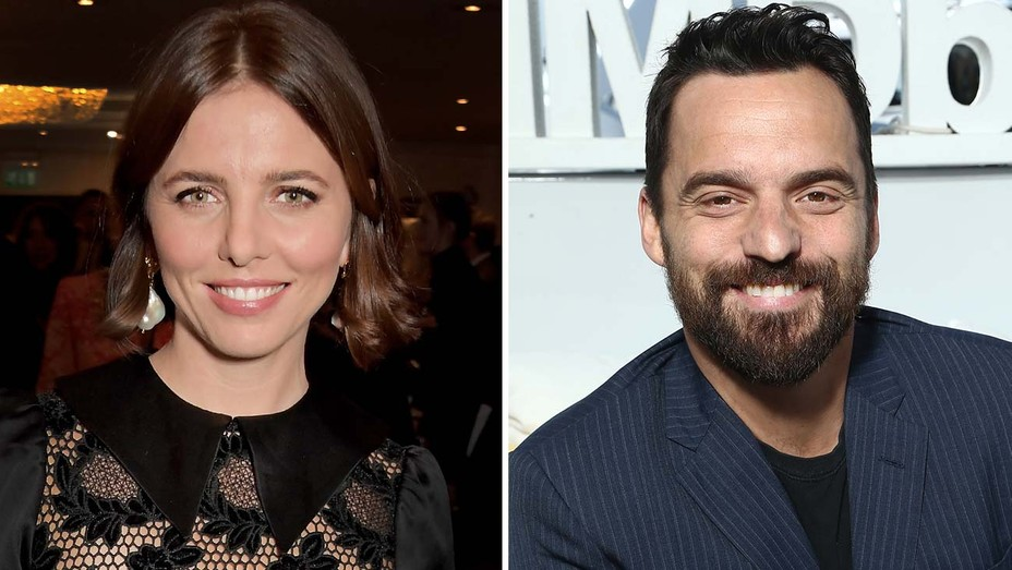 Ophelia Lovibond and Jake Johnson