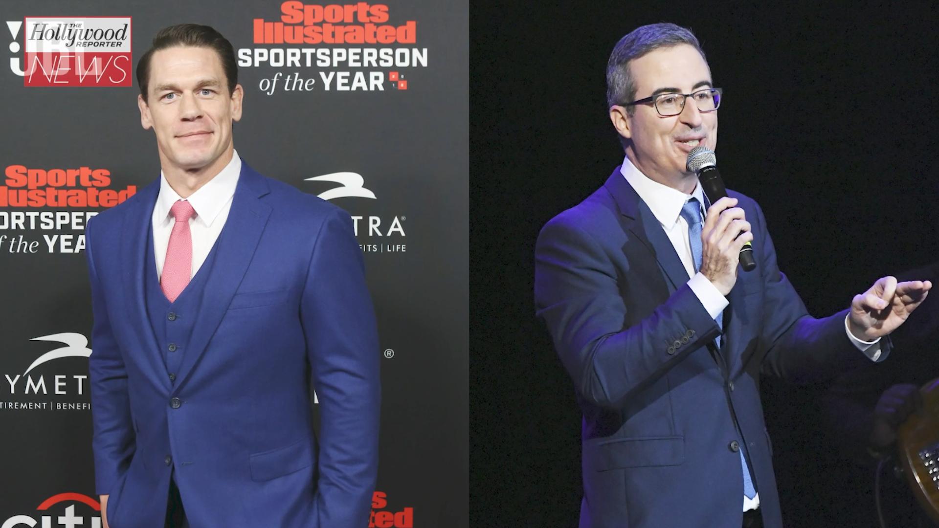 John Cena Jokes About the Struggle of Sharing a Birthday With John Oliver | THR News