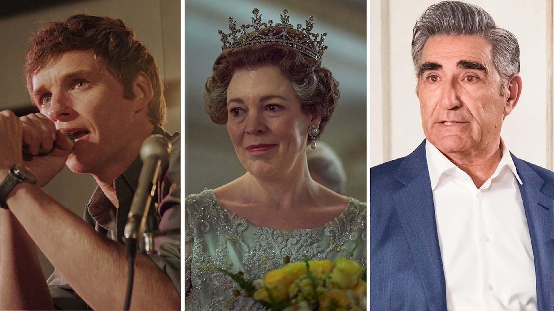 SAG Awards: 'Trial of the Chicago 7,' 'The Crown,' 'Schitt's Creek' Win Best Ensemble Categories