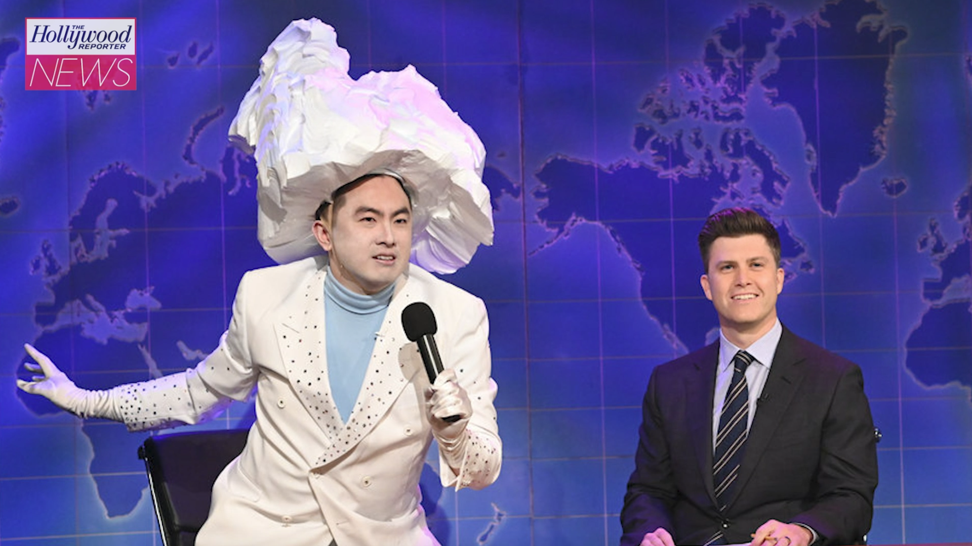 'SNL': Bowen Yang's Sketch as the Iceberg That Sunk the Titanic Steals the Show | THR News