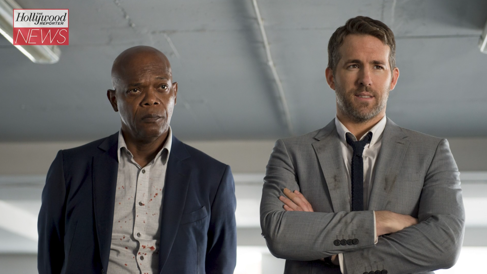 'The Hitman's Wife's Bodyguard': Ryan Reynolds, Samuel L. Jackson Reunite in First Trailer | THR News