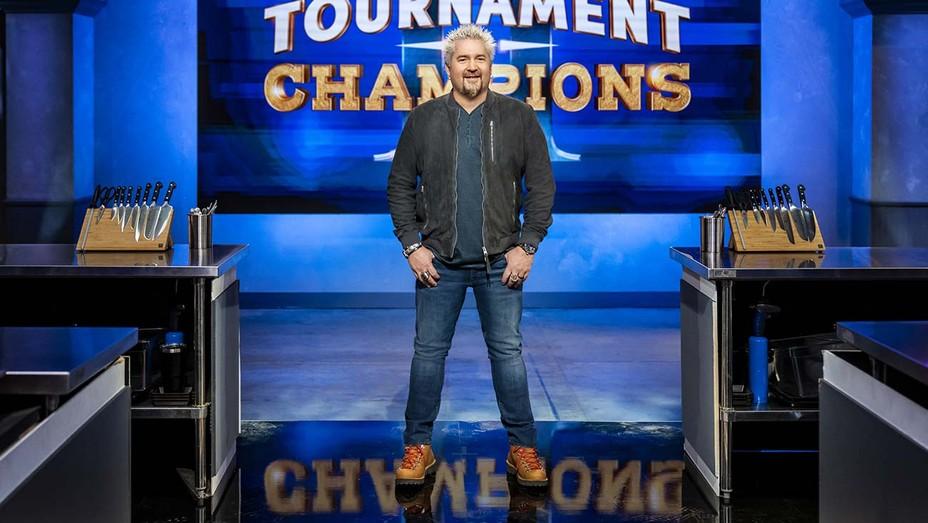 Host Guy Fieri Tournament of Champions Season 2