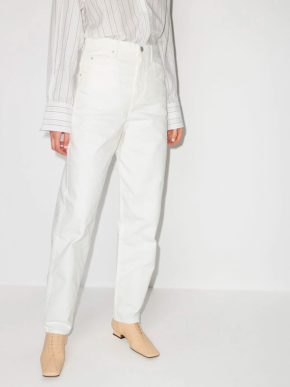 Isabel Marant Etoile Corfy Jeans mit hoher Taille