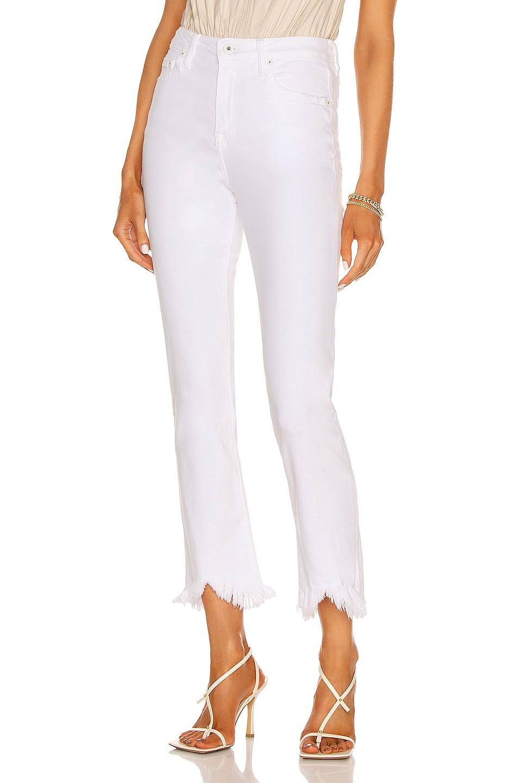 Jonathan Simkhai Standard River Hochhaus-Jeans mit geradem Bein