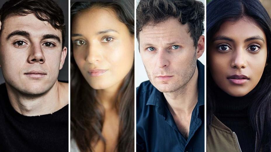 Calam Lynch, Shelley Conn, Rupert Young and Charitra Chandran