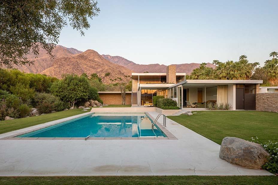 Das Kaufmann-Wüstenhaus in Palm Springs